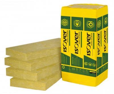 Pannello in lana di roccia, idrorepellente, trattata con speciali leganti a base di resine termoindurenti, senza rivestimento.