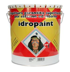 IDROPAINT - IDROPITTURA GARANTITA SUPER LAVABILE PER ESTERNO ED INTERNO