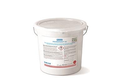 Pittura intumescente monocomponente in emulsione acquosa a base di resine sintetiche per la protezione al fuoco di elementi posti all'interno di calcestruzzo e legno.