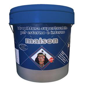 MAISON - IDROPITTURA SUPERLAVABILE PER ESTERNO E INTERNO