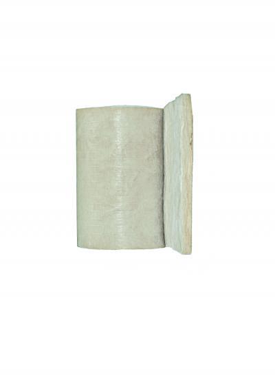 Pannello arrotolato in lana di vetro italiana 4+, realizzata con un legante brevettato a base di materie prime rinnovabili che contribuisce alla qualità dell'aria interna. Il pannello è rivestito su una faccia con un velo di vetro.